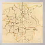 Ríos y valles de Alemania Posters