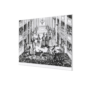 Riot at Covent Garden Gallery Wrapped Canvas