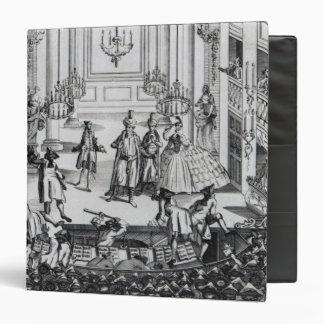 Riot at Covent Garden Theatre in 1763 Vinyl Binder