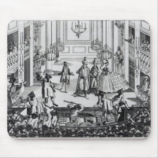 Riot at Covent Garden Theatre in 1763 Mouse Pad