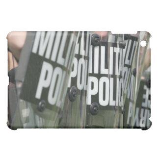 Riot control formation iPad mini cases