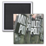Riot control formation magnet
