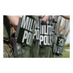 Riot control formation print