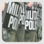 Riot control formation stickers