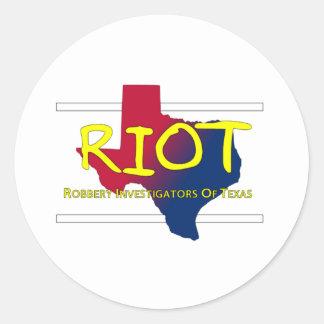 RIOT Gear Classic Round Sticker