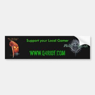 Riot Gear/OHLB-4 Bumper Sticker
