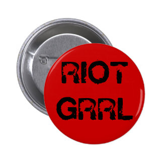 """""""Riot Grrl"""" Button"""
