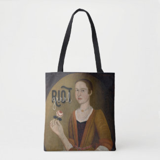 Riot Grrrl Girl Tote Bag