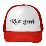 Riot Grrrl Hat