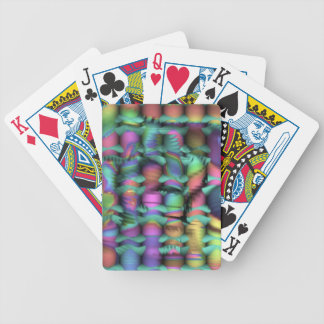 riot in a crayon box bicycle playing cards