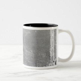 Riot in Broad Street, June 1780 Two-Tone Coffee Mug