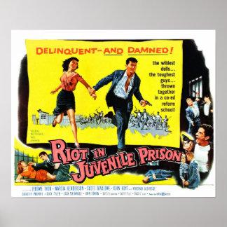 Riot in Juvenile Prison Poster