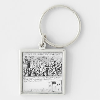 Riot in St. Giles' Cathedral, Edinburgh Keychain