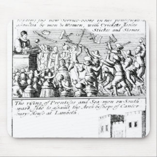 Riot in St. Giles' Cathedral, Edinburgh Mouse Pad