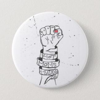 riot mom of salida button