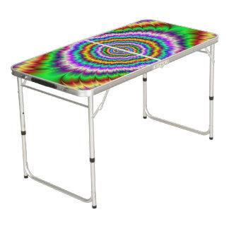 Riot of Color Eye Teaser Pong Table