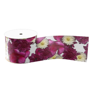 Riot of Flowers Ribbon by KCS