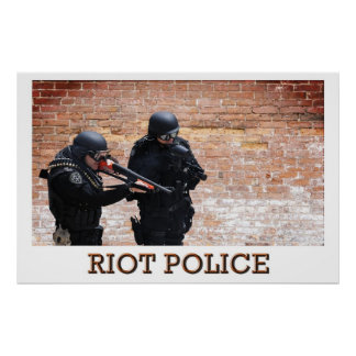Riot Police Poster