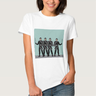 Riot Police with shields T-shirt