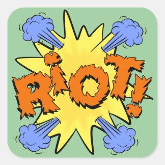 Riot Square Sticker