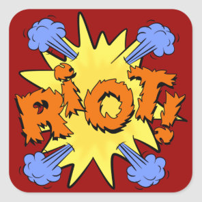 Riot Square Sticker