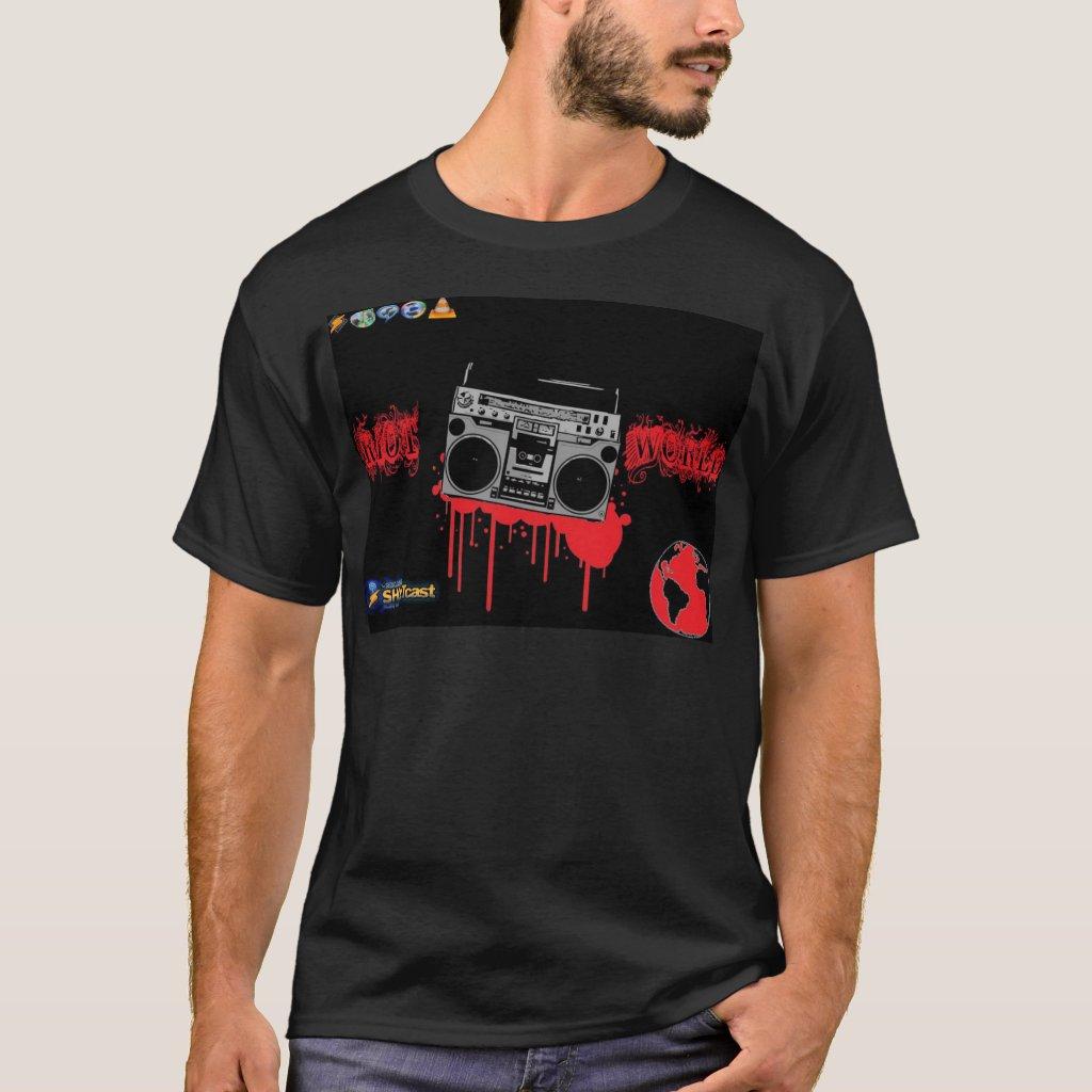 Riot World Black t T-Shirt