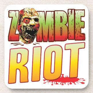 Riot Zombie Head Drink Coaster