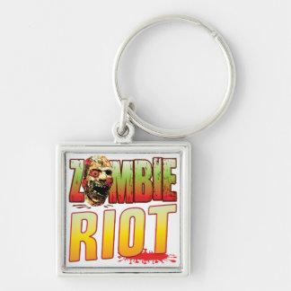 Riot Zombie Head Key Chains