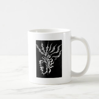 Rioting Mind Inverted Classic White Coffee Mug