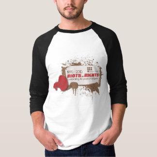 Riots 3/4 Raglan T-Shirt