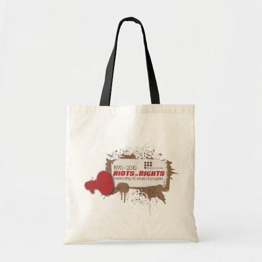 Riots Budget Budget Tote Bag
