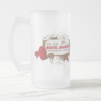 Riots Frosted Stein Mug