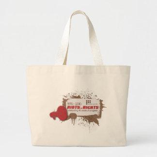 Riots Jumbo Tote Bag