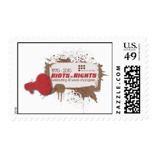 Riots Medium Stamp