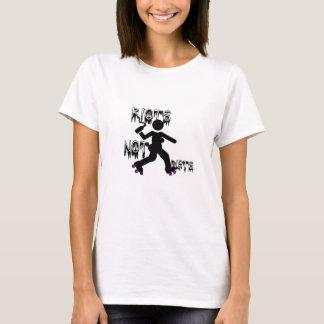 Riots Not Diets Roller Derby T-Shirt