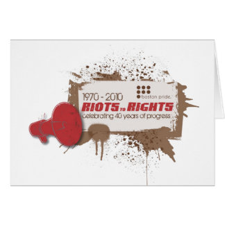 Riots Notecard Greeting Cards