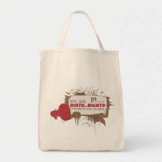 Riots Organic Grocery Canvas Bag