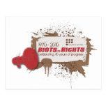 Riots Postcard