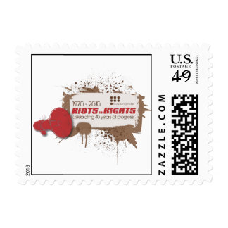 Riots Small Stamp