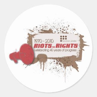 Riots Sticker Small