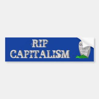 RIP Capitalism Car Bumper Sticker
