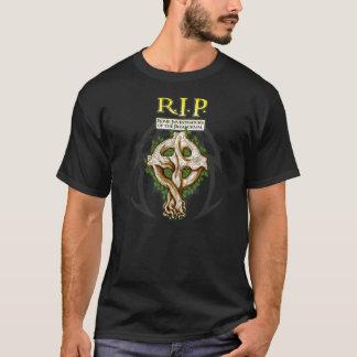 RIP - Celtic Branches Cross Shirt
