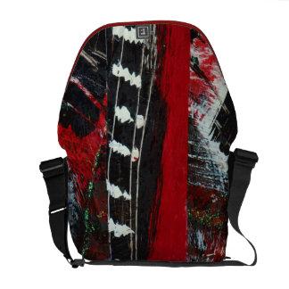 Rip City!  Red Black & White Messenger Bag