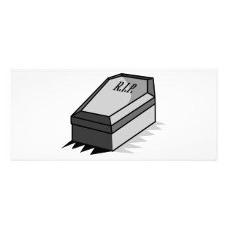 RIP Coffin Rack Card