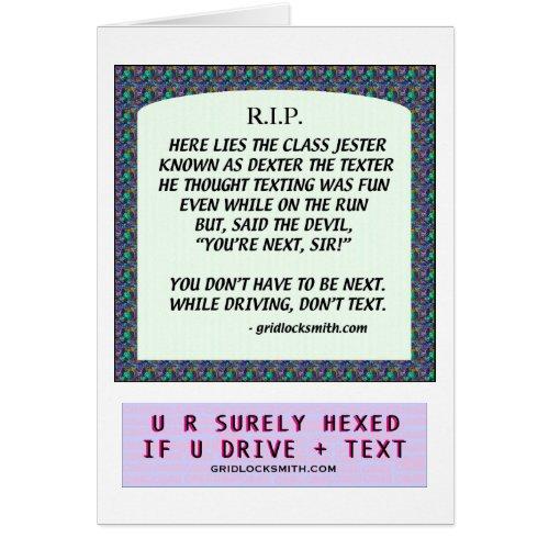 RIP-DEXTERtheTEXTER card