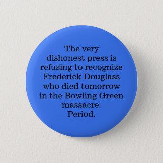 RIP Frederick Douglass Pinback Button