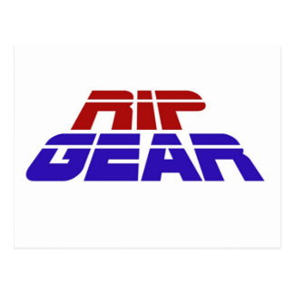 RIP Gear Basics Range Postcard
