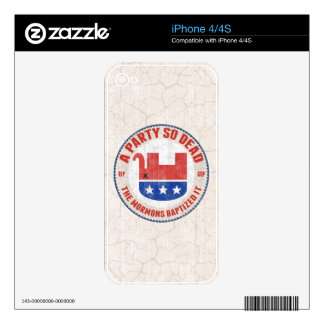 RIP-GOP SKINS FOR iPhone 4S