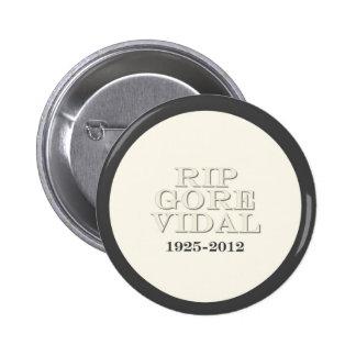 RIP Gore Vidal Button