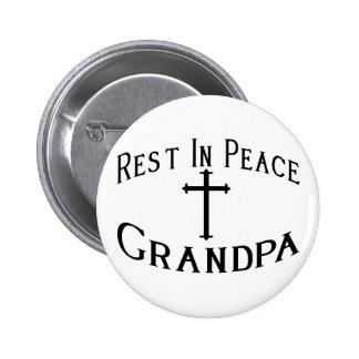 RIP Grandpa Pinback Button